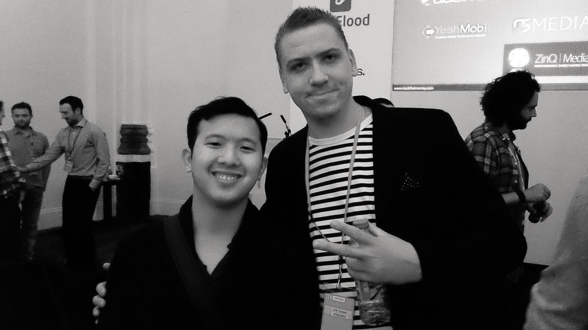 With Charles Ngo